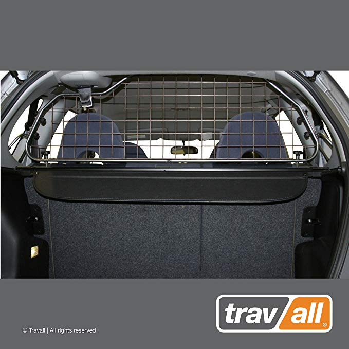 Travall Guard for Honda Fit (2001-2008) Also for Honda Jazz (2001-2008) TDG1171 - Rattle-Free Steel Pet Barrier