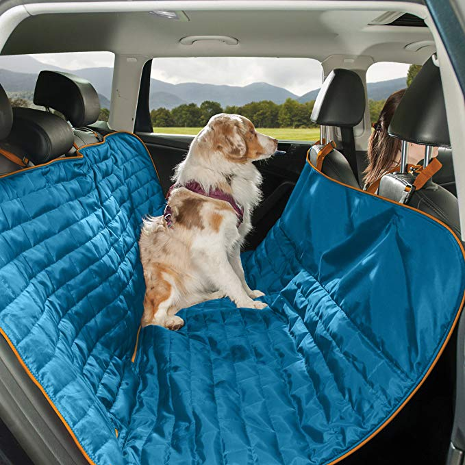 Kurgo Waterproof Reversible Loft Hammock Style Dog Car Seat Cover, Pet Seat Cover